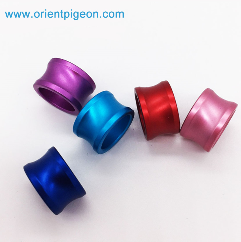 2-16mm A variety of sizes Custom Printed Aluminum ring for Pigeon