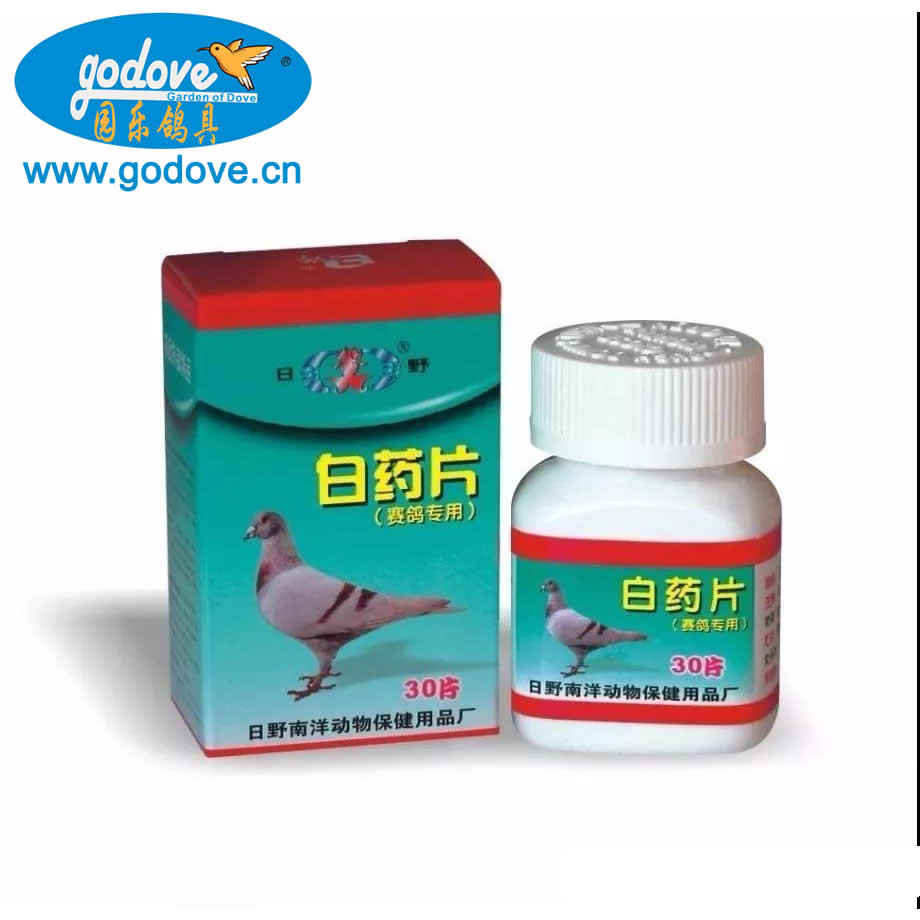 White pills for Racing Pigeon